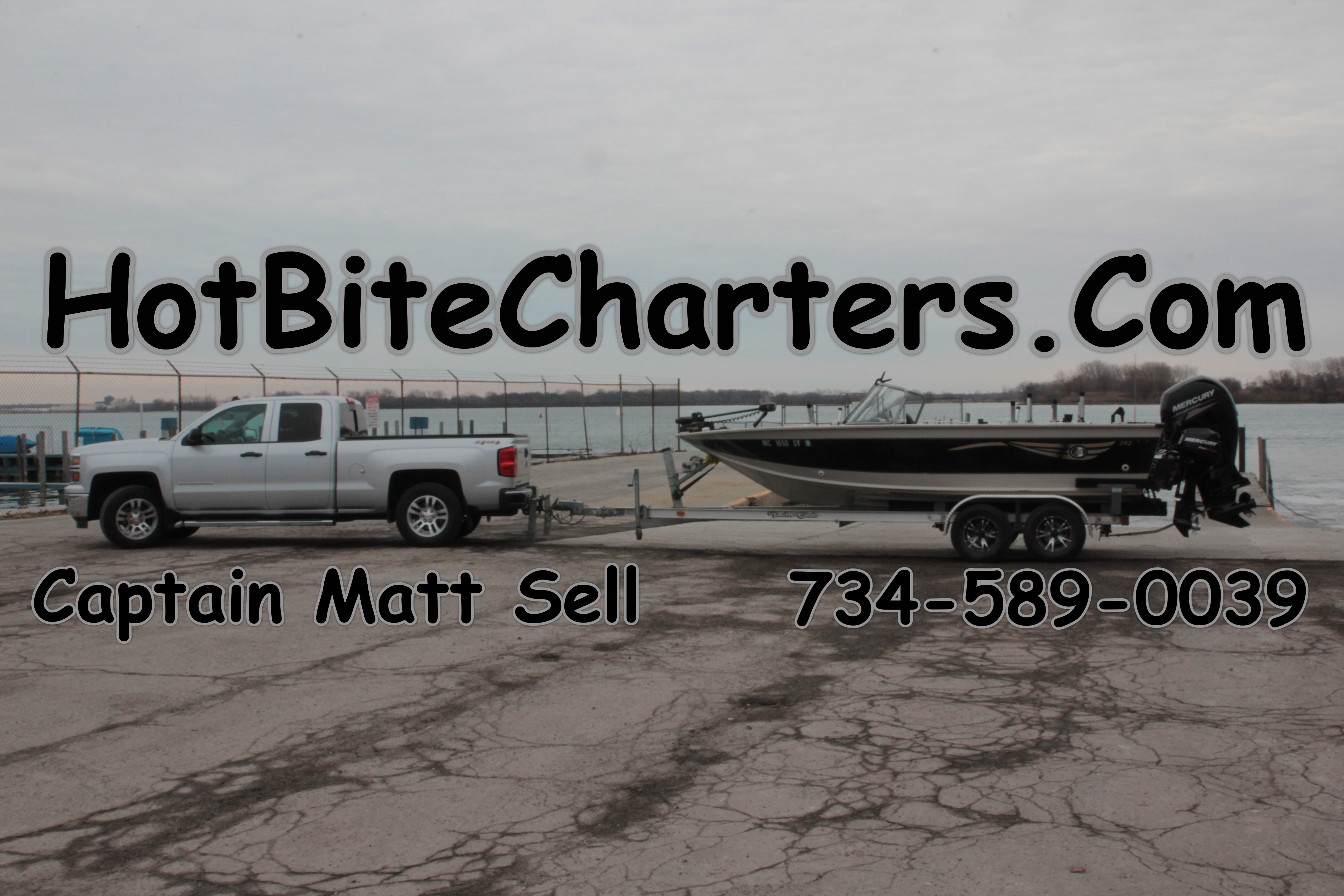 Hot bite charters personalized educational guided for Ohio one day fishing license